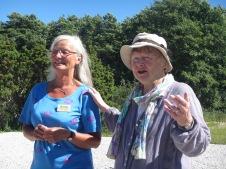 Lisbet Palme på DBF:s sommarläger 2013