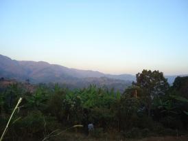 Landsbygden i Burundi