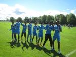 Somaliska Freds firar efter målintegrationscup