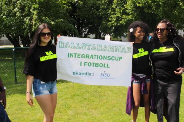Hallstahammar på integrationscupen
