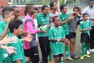 DBF läger i Lomma 2014 fotboll