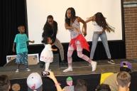DBF läger i Lomma 2014 danstävling
