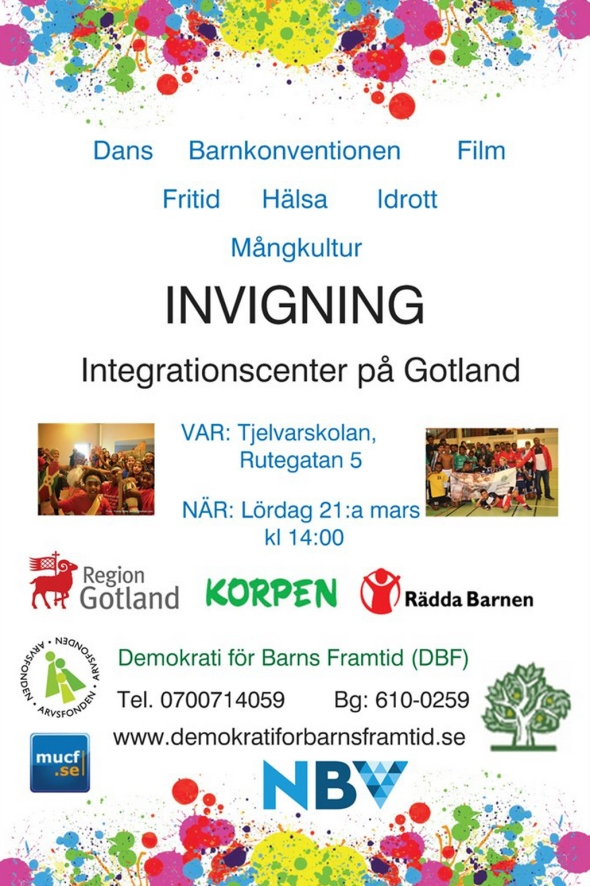 Integreationscenter invigning