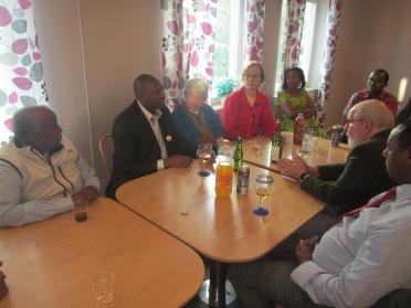 Evariste Nimubona från DAJBU besökte Visby
