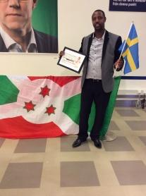 Claudien får pris från Skandia - Idéer för livet september 2015