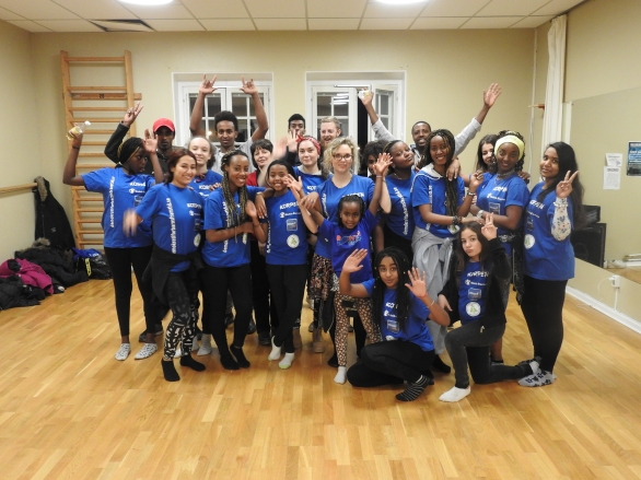 MUCF på besök hos DBF 2:a februari 2016 Dans