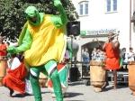 Burundiska trummor Visbycentrum