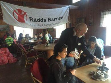 DBF och Rädda Barnen - sommarläger Stora Karlsö
