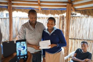 DBF:s fadderbarn i Butare