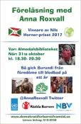 Affisch Anna Roxvall (1)