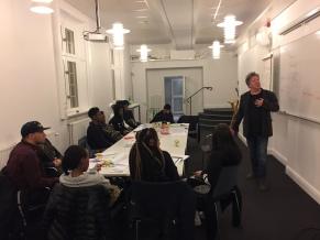 DBF på utbildning med Coompanion 2018