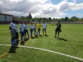 Fotbollsturnering i Rosengård 2018