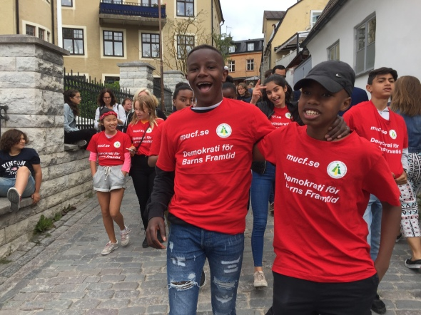 DBF deltog i Mångfaldsparaden 2018
