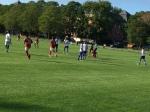 DBF tog emot Fotboll för alla från Nynäshamn 15:e augusto2018