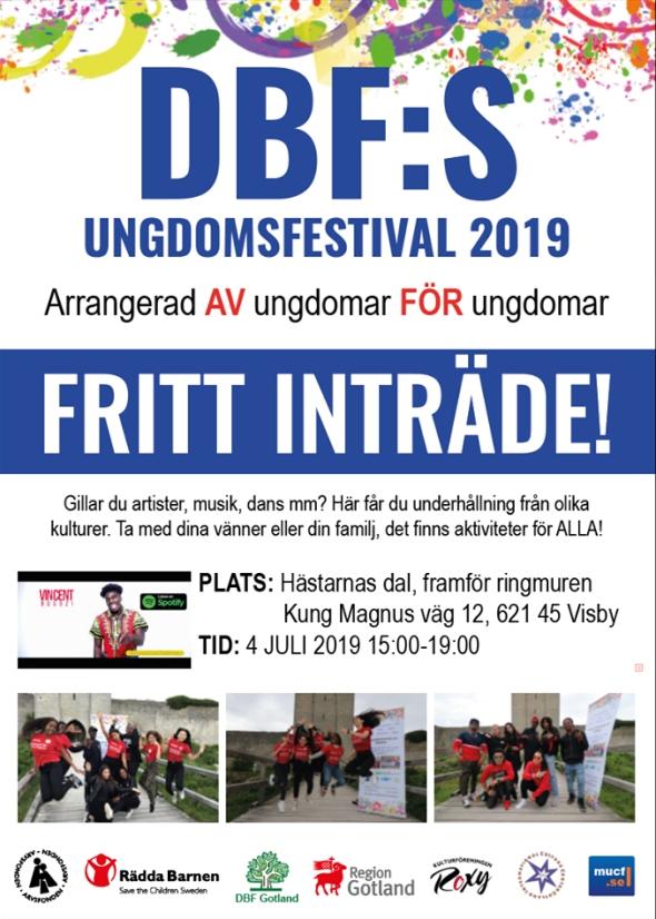 DBFs ungdomsfestival 2019