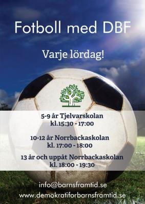 Fotboll med DBF 2019